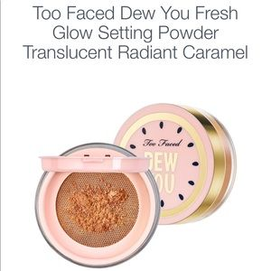 TOO FACED Glow setting powder - Caramel